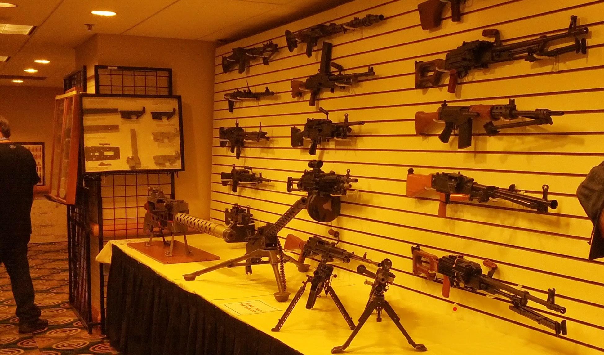 display of armament